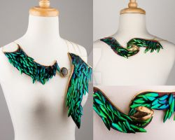 Prothorax Necklace by catiecurrandesigns