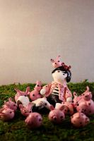 bunnies don't come in pink by oddhatter