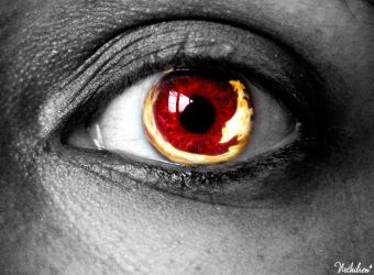 Red Fire Eye by nithilien