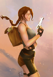 Tomb Raider - Treasure Hunter Extraordinare by Forty-Fathoms
