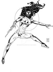 Ultimate Spider woman by Mich974