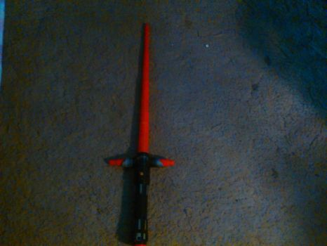 My Kylo Ren lightsaber by SimonTheLoud