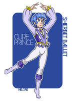 Male Cure Princess Sherbet Ballet by hielorei