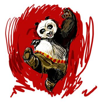 My Kung Fu Panda by Androstrb