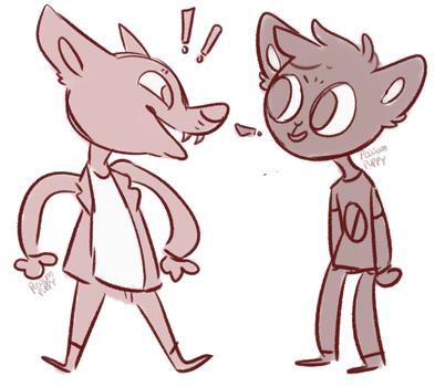 NitW Crime Duo by ByteMyFur