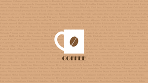 Coffe (Typography) by NocteDesign