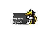 I Support Kryxiate stamp by Kelskora