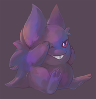 Gengar by bylacey