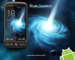 Blue Quasar for Android WVGA by Cholo981