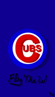 Cubs iPhone Wallpaper by RealPumpkinHead
