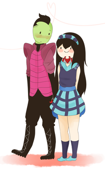 Commission: Ling x Zim by kawaiiti
