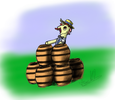 Oh those barrels! by tenseconds10