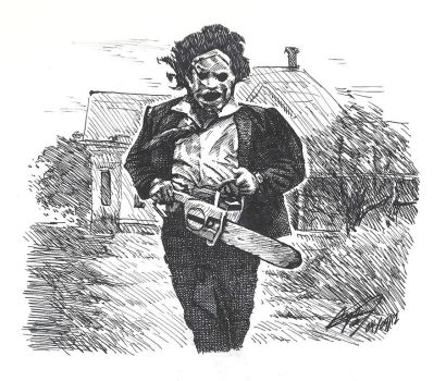 Leatherface by asakitay