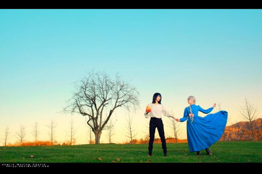 Howl's Moving Castle-Two of Them by 35ryo