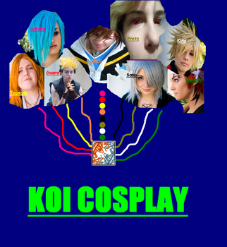 Testing Koi Cosplay Contest by Anime-King-Zi2