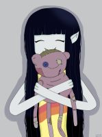 Marceline and Hambo! by AndiScissorhands