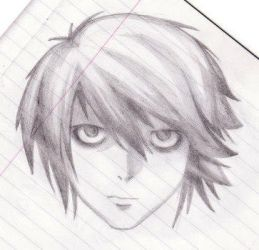 L from deathnote by crazy-arty-type