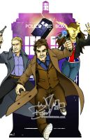 Doctor Who commish by wheretheresawil