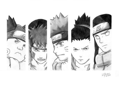 Naruto: Search and Rescue Team by v2-6