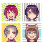 Colorful chibi icons by NamiYami