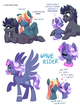 Wave Rider by Lopoddity