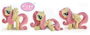 15 Inch Poseable Fluttershy by PlushActionToys