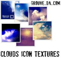 Clouds icon textures by Grouve