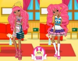 Ever After High Book Party Ginger Breadhouse by heglys