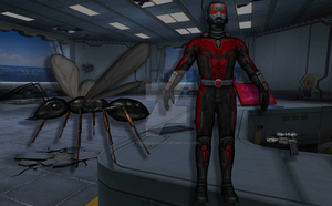 Ant Man (Ant Man and the Wasp) by Pitermaksimoff