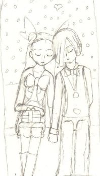 Day 5 of my 25 OTP til Christmas: Cress x Jasmine by Black-Angel-of-Mercy