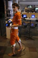 Portal - Chell cosplay by Rpd95