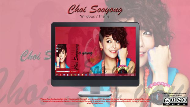 [2013 Theme] Choi Sooyong [SNSD] Win 7 by HKK98