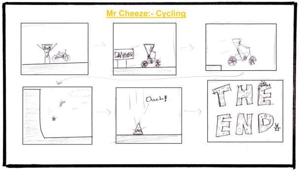 Mr. Cheeze:- Cycling by Pingpongalong