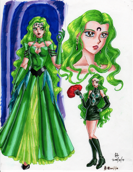 Emerald Ice by AmethystSadachbia