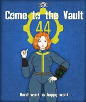 Come to the Vault - Jo Poster by Distant-Rain