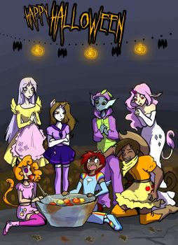Happy Halloween by Warlord-of-Noodles