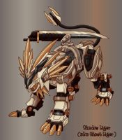 Playing with Paintshop effects by GhostLiger