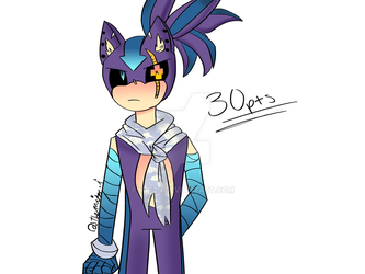 Sonic ADOPT: Male Hedghog (Closed!) by mitzj
