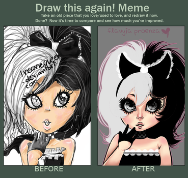 Draw This Again Meme by GrimmBunny