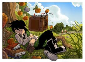 -Yodji- Under the apple tree by VanOxymore
