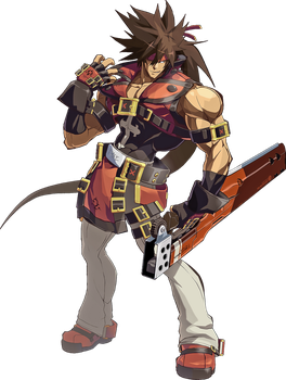 Guilty Gear Xrd Revelator - Sol Badguy by hes6789