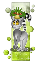 King Julien by chicajamonXD