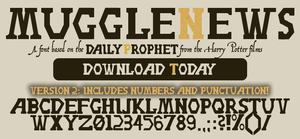 Daily Prophet Template Images Gallery >> The Daily Prophet By ...