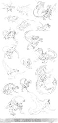 Some Dragons I Guess by arvalis