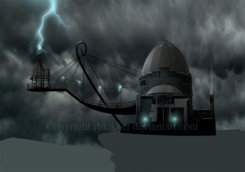 Mad lab first Matte painting by rblokker