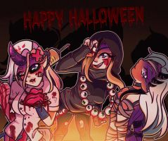 Happy Halloween !~ by Nyoonchan