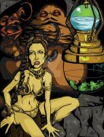 Slave Leia Color Test by BankyOne