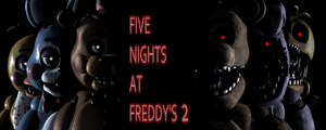 Five nights at Freddy's 2 Wallpaper by Elsa-Shadow