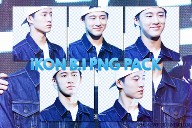 iKON - B.I PNG PACK 01 by CupcakeSwift
