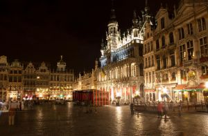 Grand Place Square, Brussels by FU51ON